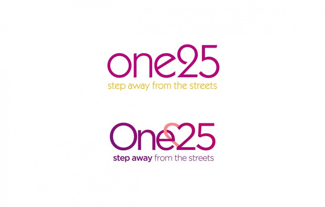 Old and new one25 logos