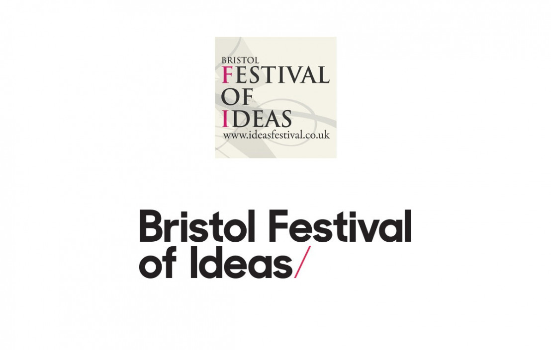 Bristol Festival Of Ideas Logo old and new