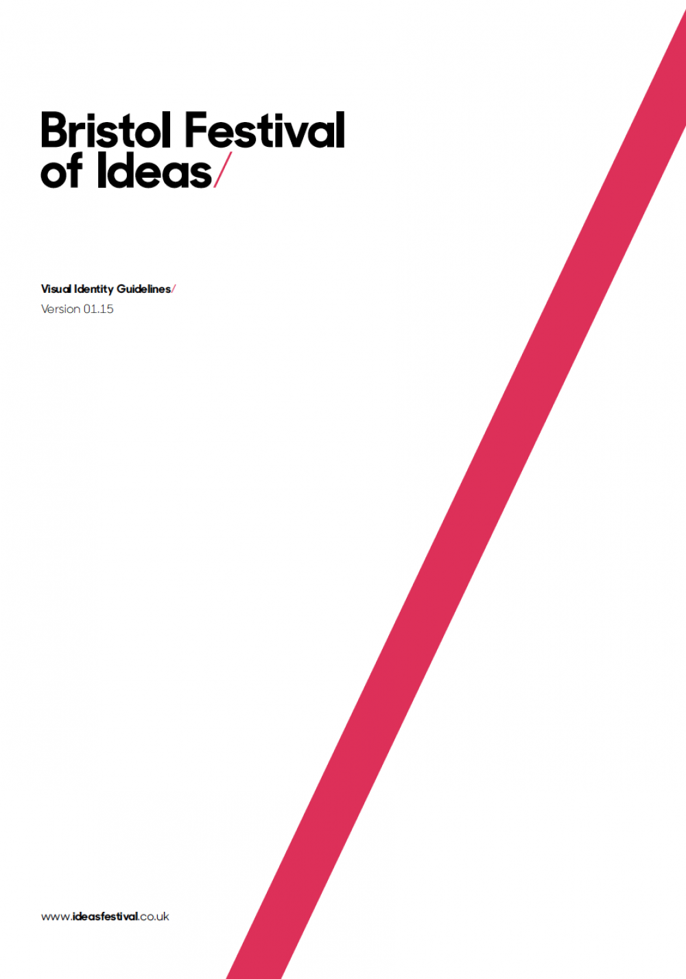Festival of Ideas Branding Cover