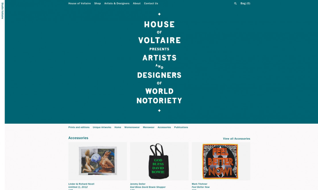 House of voltaire design