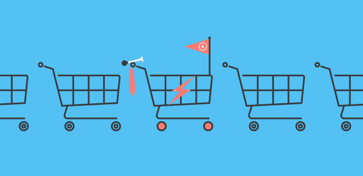 Customised WooCommerce cart graphic