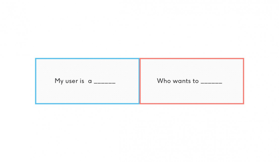 How to write user needs